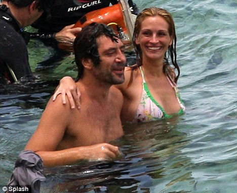 Julia Roberts and Javier Bardem